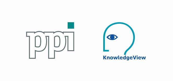 Logos von KnowdledgeView Ltd und der ppi Media GmbH.